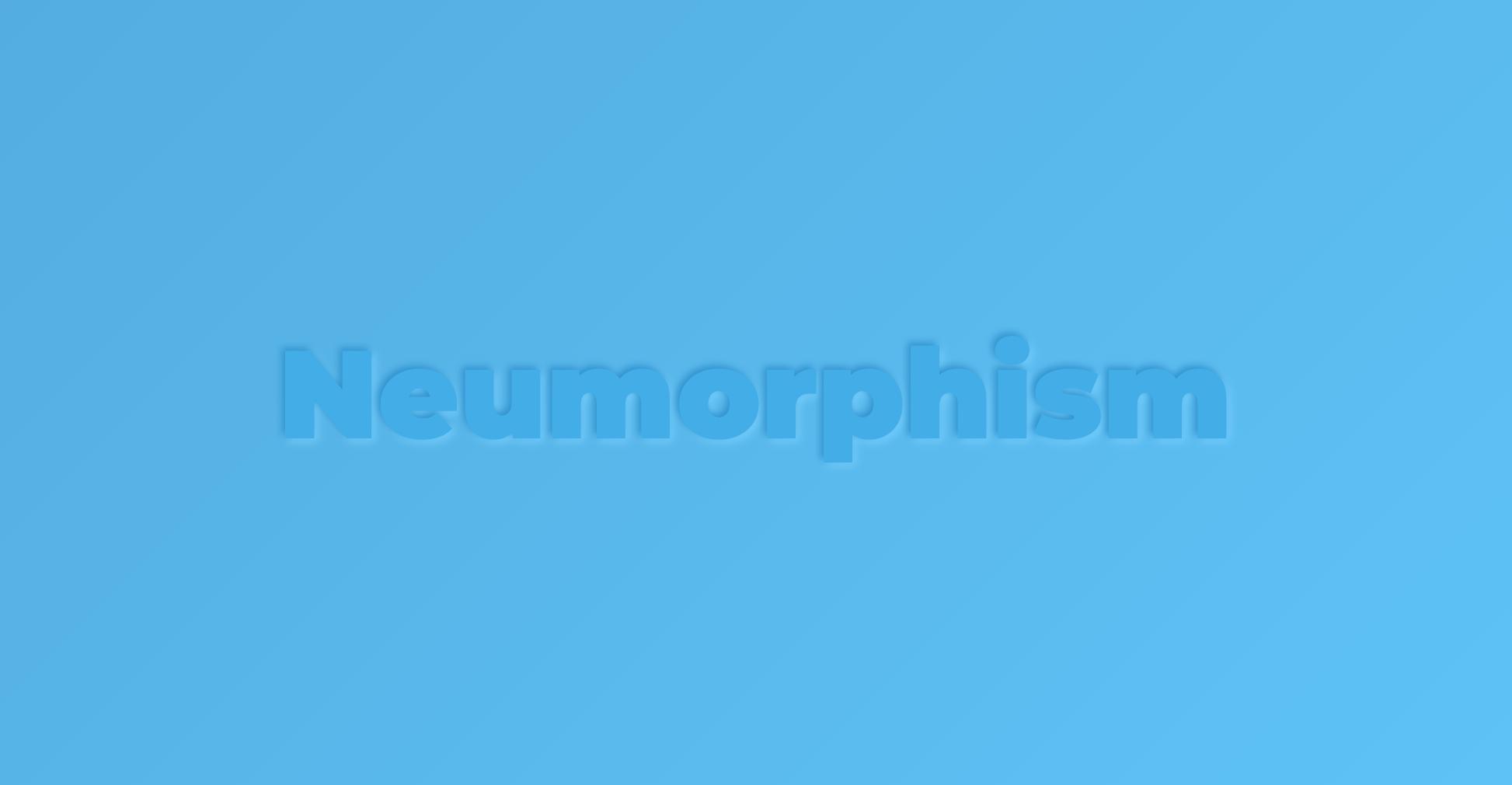 Neumorphic Text